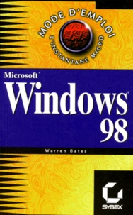 Deedr.fr Windows 98 - Microsoft Image