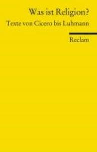 Birrascarampola.it Was ist Religion? - Texte von Cicero bis Luhmann Image