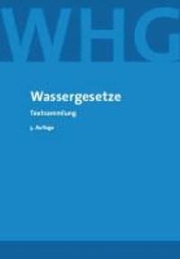 Wassergesetze - Textsammlung,.