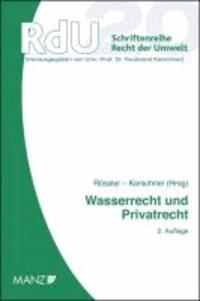 Wasserrecht und Privatrecht.