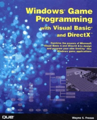 PDF Livre Windows Game Programming with Visual Basic and