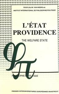 Weers guus jm Van - L'État-providence- The Welfare State - Un débat philosophique- A Philosophical Debate.