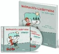 Weihnachts-Liederreise - Bilderbuch und Weihnachtslieder-CD im Set.