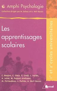 WEIL-BARAIS - Les apprentissages scolaires.