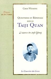Era-circus.be Questions et réponses sur le Taiji quan - L'essence du style Yang Image