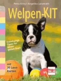 Welpen-Kit - Erziehungs-Tipps für einen guten Start mit 30 Lern-Karten.