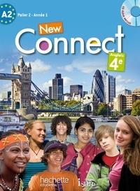 Wendy Benoit et Ghyslaine Lasbleiz - Anglais 4e A2 Connect. 1 CD audio MP3