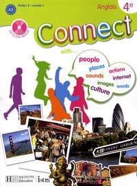 Wendy Benoit et Martine Jobert - Anglais 4e Connect. 1 CD audio