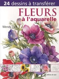 Wendy Tait - Fleurs à l'aquarelle.