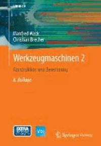 Werkzeugmaschinen 2 - Konstruktion und Berechnung.