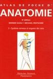 Werner Kahle - Atlas de poche d'anatomie - Tome 3, Système nerveux et organes des sens.