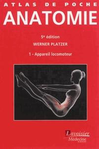 Werner Platzer - Atlas de poche d'anatomie - Tome 1, Appareil locomoteur.