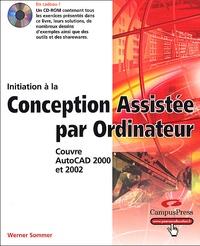 Initiation à La Conception Assistée Par Ordinateur Couvre Autocad