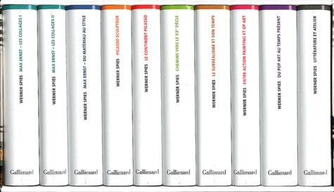 Werner Spies - Un inventaire du regard - Ecrits sur l'art et la littérature Coffret 10 volumes.