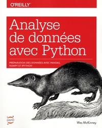 Wes McKinney - Analyse de données avec Python.