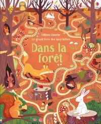 Wesley Robins et Susanna Rumiz - Le grand livre des labyrinthes dans la forêt.