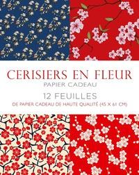 Cerisiers en fleur - Papier cadeau.pdf