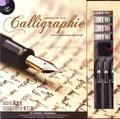 White Star - Coffret Ranimer l'art de la calligraphie - Contient : 1 manuel d'instructions, 3 stylos avec cartouches, 4 tubes de gouache, 1 pinceau et 1 tablette.