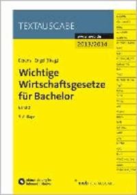 Wichtige Wirtschaftsgesetze für Bachelor 02.