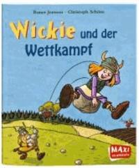 Wickie und der Wettkampf.