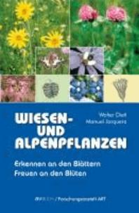 Wiesen- und Alpenpflanzen - Erkennen an den Blättern.  Freuen an den Blüten.