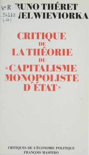 Critique de la théorie du capitalisme monopoliste d'État