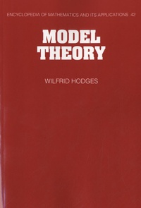 Model Theory - Wilfrid Hodges |