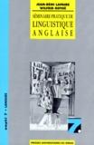 Wilfrid Rotgé et Jean-Rémi Lapaire - Séminaire pratique de linguistique anglaise.