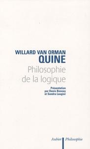 Willard Van Orman Quine - Philosophie de la logique.