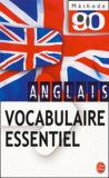 William-B Barrie et Anne-Marie Pateau - Vocabulaire essentiel anglais.