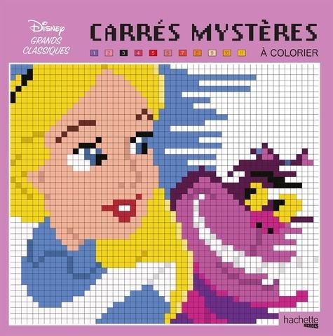 Carres Mysteres A Colorier Disney Grands Classiques Grand Format
