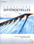 William Boyce et Richard-C DiPrima - Equations differentielles.