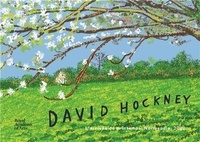 William Boyd et Edith Devaney - David Hockney - L'arrivée du printemps, Normandie, 2020.