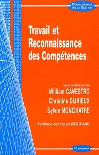 William Cavestro et Christine Durieux - Travail et Reconnaissance des Compétences.