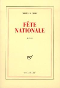 William Cliff - Fête nationale.