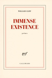 William Cliff - Immense existence.