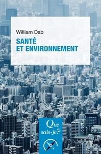 William Dab - Santé et environnement.