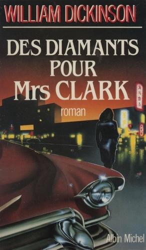 Couverture de Des diamants pour mrs clark