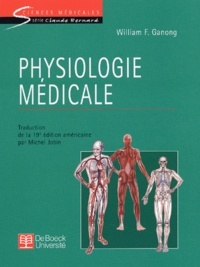 William-F Ganong - Physiologie médicale.