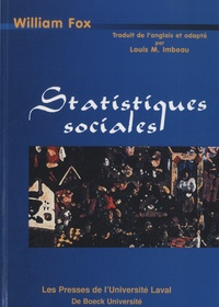 William Fox - Statistiques sociales.