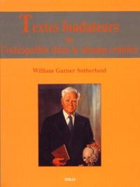 Histoiresdenlire.be Textes fondateurs de l'ostéopathie dans le champ crânien Image