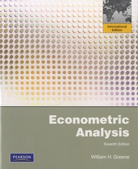 William H. Greene - Econometric Analysis.