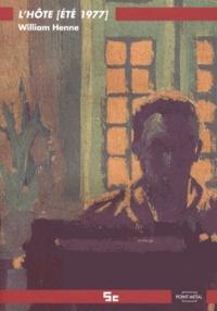 William Henne - L'hôte (été 1977).