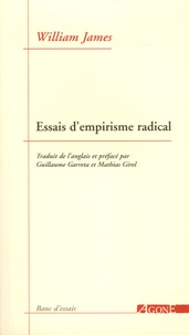 William James - Essais d'empirisme radical.