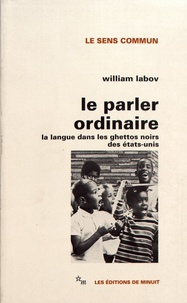 Le parler ordinaire - La langue dans les ghettos noirs des Etats-Unis.pdf
