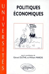 William Marois et  Collectif - Politiques économiques.