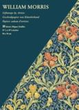 William Morris - William Morris - Papiers cadeau d'artistes (10 feuilles).