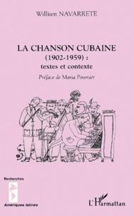 La chanson cubaine (1902-1959) : textes et contexte.pdf