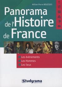 William-Pierre Bouziges - Panorama de l'Histoire de France.