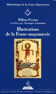 William Preston - Illustrations de la Franc-maçonnerie.
